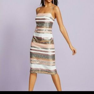 NWT Vince Camuto sequinned dress